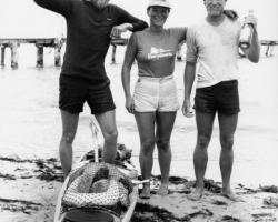 1982 finish Round Australia Kayak Expedition